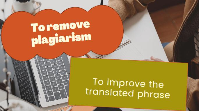 Remove plagiarism image